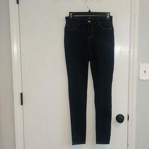 Women's size 5 Blue Spice dark wash jean jeggings